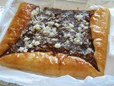 Recept na pravy, pajersky kolac Spanakopita, Cheesesteak, Favorite Recipes, Ethnic Recipes, Food, Essen, Meals, Yemek, Eten