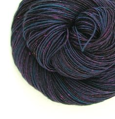Handspun Yarn 241 yards 33 oz Sport Weight by TheSavvyStitch