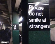 """""""Oddly Specific: Typical NYC Sign"""" #NYCLove #funny #sign"""