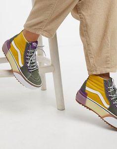 Hype Shoes, Gucci Shoes, Vans Shoes, New Shoes, Shoes Sneakers, Tenis Vans, Vans Sk8, Sneakers Fashion, Fashion Shoes