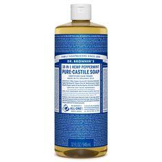 Dr. Bronner's Peppermint Pure-Castile Liquid Soap - 32 oz. ($17.99)