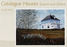 In my novel Wildwood, to be published in February 2018, a single mother inherits an old foursquare farmhouse, originally ordered from Eaton's catalogue, like the one pictured on the cover of this book. For more: www.elinorflorence.com/wildwood