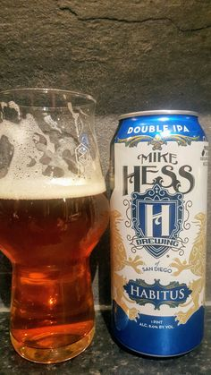 Mike Hess Habitus Double IPA. Watch the video beer review here www.youtube.com/realaleguide   #CraftBeer #RealAle #Ale #Beer #BeerPorn #MikeHessHabitusDoubleIPA #MikeHessHabitus #HabitusDoubleIPA #Habitus #MikeHessBrewingCompany #MikeHessBrewing #MikeHess #AmericanCraftBeer #AmericanBeer
