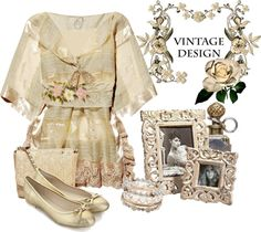 """Vintage Lace and Crochet"" by flowerchild805 ❤ liked on Polyvore"