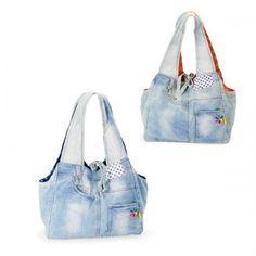 Recycled Denim Bag...