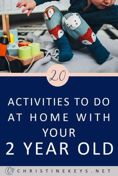 20 Activities To Do At Home With Your 2 Year Old || Here are 20 awesome toddler activities that are fun and easy to implement at home. #toddleractivities #sensoryactivities #toddlers #activities #toddlergames #parenting #motherhood #kids #fun