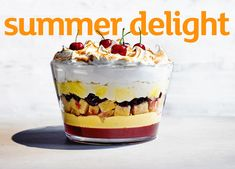 This ultimate cherry trifle recipe is a great addition to your meal. Layer it up with Madeira cakeand you have a real summer showstopper dessert