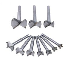 Homyl 10Pcs Ceramic Tile Glass Twist Drill Bits 6mm Diameter for Chucks Bit Holder