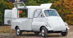1953 ISO Isetta Mobile Shop/Camper Conversion 236cc 14.4ci Split-Single 2-Stroke Engine with 4-speed and reverse