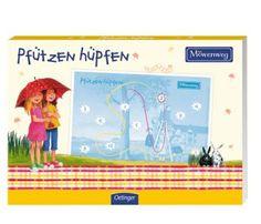 """Kinderbibliothek : Papierduell: """"Pfützen hüpfen"""" von Kirsten Boie"""