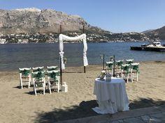 Wedding on Telendos island, Greece.