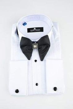 Wing Collar, Bucharest, Bow, Shirt Dress, Mens Tops, Shirts, Fashion, Suits, Boyfriends