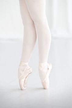 Ballet Dancer - White