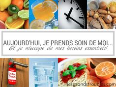 JOUR 19 : JE M'OCCUPE DE MES BESOINS ESSENTIELS! 30 Day, Take Care Of Yourself