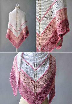 Be Mine Shawl Free Knitting Pattern