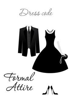 Creative black tie dress code wedding dresses for Wedding dinner dress code