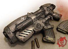 Gears of War Art & Pictures,  Hammerburst 2
