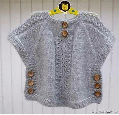 We have compiled 100 crochet baby vest pattern samples. See all of 40 crochet baby vest patterns. Browse lots of Free Crochet Patterns. Crochet Poncho With Sleeves, Gilet Crochet, Crochet Poncho Patterns, Knitted Poncho, Boy Crochet, Ravelry Crochet, Free Crochet, Baby Knitting Patterns, Knitting For Kids