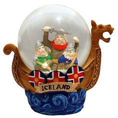 Vikings in a Snow Globe?  Just shows you can put anything in a snow globe.