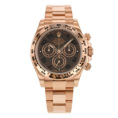 3bf584e136e9 Rolex Daytona 116505 CHO 18K Everose Gold Automatic Unisex Watch -- You can  find out