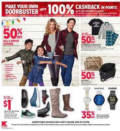 Kmart Black Friday 2018 Ads and Deals Browse the Kmart Black Friday 2018 ad scan and the complete product by product sales listing. Kmart Coupons, Black Friday News, Active Wear, Fall Winter, Ads, Stuff To Buy, Shopping, Clothes, Fashion