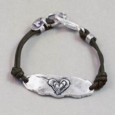 "Island Cowgirl ""Follow Your Heart"" Bracelet"
