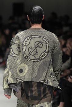 Snakes Cardigan  Vivienne Westwood AW 14/15 MAN Collection, Milan Fashion Week. Purchased Dec 14