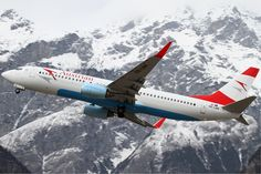 Lovely view with Austrian Airlines