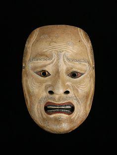 Noh mask Yorimasa ●彡