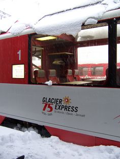 Glacier Express from St. Moritz to Zermatt, Switzerland