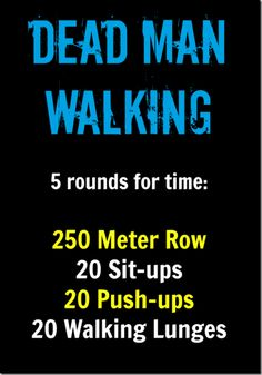 WOD Dead Man Walking