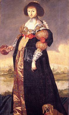 Princess Magdalene Sibylle, Karel van Mander, 1635.  Copyright: Rosenborg Castle / Rosenborg Slot
