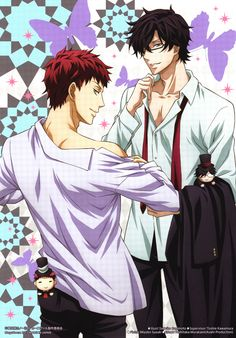 Tsukitachi, Hirato, #Karneval, anime guy, manga guy
