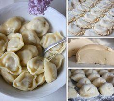 Universal brewing dough for dumplings, ravioli, chebureks Ukrainian Recipes, Russian Recipes, Good Food, Yummy Food, Good Enough To Eat, Saveur, Ravioli, I Foods, Food Inspiration