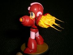 Custom Nintendo Amiibo Jet Megaman Mega Man Figure | eBay