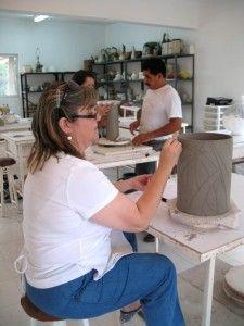 Alma Rosa Olvera Carving, Desk, Home Decor, Atelier, Desktop, Decoration Home, Room Decor, Wood Carvings, Writing Desk