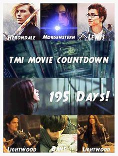 Mortal Instruments countdown :) is it me or are you dissapointed that they called him heronald instead of lightwood in the first movie?