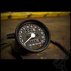 Neat little speedo / Odometer, with built in indicator, high beam, neutral, and oil lights. $74.95