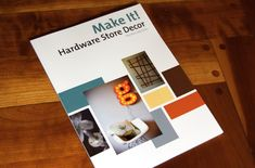 Make IT! Hardware store design! Great ideas to make from stuff at the hardware store!!
