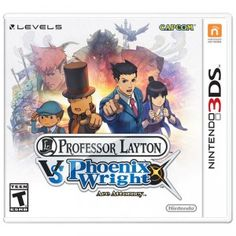 Professor Layton vs. Phoenix Wright: Ace Attorney is a crossover adventure/puzzle game for the Nintendo 3DS.
