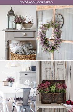 decoracion con brezo