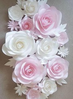 Paper Flowers Craft, Large Paper Flowers, Paper Flowers Wedding, Paper Flower Wall, Paper Flower Backdrop, Giant Paper Flowers, Flower Wall Decor, Diy Flowers, Flower Decorations