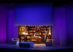 The Real Thing. Scenic design by Lauren Helpern.