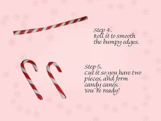 Nail Corner: Fimo tutorial part 4 - Candy cane!