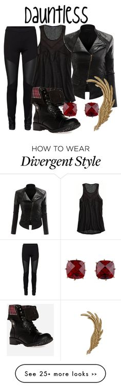 """Dauntless -- Divergent Movie"" by evil-laugh on Polyvore"