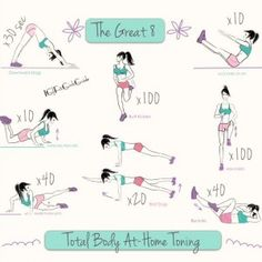 Total body at home toning | FitGirlsWorldWide.com