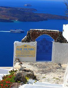Firostefani, Cyclades, Greece