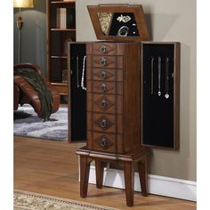 Have to have it. Camden 6 Drawer Jewelry Armoire $308.00