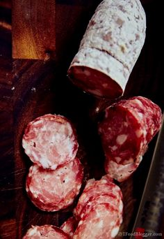 Salami is not too hard to make at home, but it's nothing…