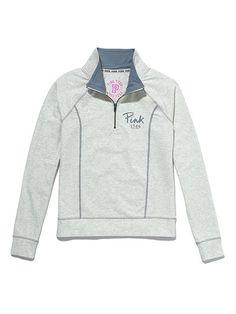 Victoria's Secret PINK Yoga Half-Zip #VictoriasSecret http://www.victoriassecret.com/pink/tops/yoga-half-zip-victorias-secret-pink?ProductID=80006=OLS?cm_mmc=pinterest-_-product-_-x-_-x